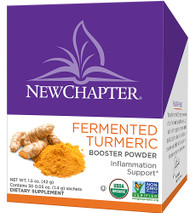 New Chapter Fermented Organic Turmeric Booster Powder - 30 Packets