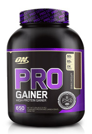 Optimum Nutrition, Pro Gainer, Double Chocolate, 5.09 lbs (2.31