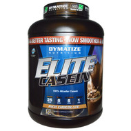 Dymatize Nutrition, Elite Casein, Rich Chocolate, 4 lbs (1.8 kg)