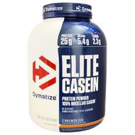 Dymatize Nutrition, Elite Casein, 100% Micellar Casein, Cinnamon Bun, 4 lb (1.8