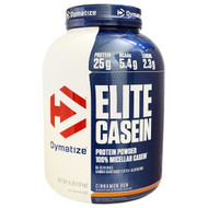 Dymatize Nutrition, Elite Casein, Cinnamon Bun, 4 lb (1.8 kg)