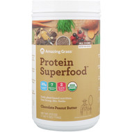 Amazing Grass, Protein Superfood, Chocolate Peanut Butter, 1.7 lbs (774 g)