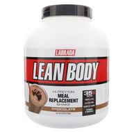 Labrada Nutrition, Lean Body, Hi-Protein Meal Replacement Shake, Chocolate, 4.63 lbs (2100 g)