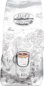 Jims Organic Coffee, Dark Roast Whole Bean,  Sweet Love Blend - 4 lbs