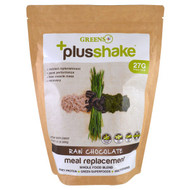 Greens Plus, Plusshake, Meal Replacement, Raw Chocolate, 1.5 lb (690 g)