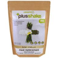 Greens Plus, Plusshake, Meal Replacement, Raw Vanilla, 1.4 lb (630 g)