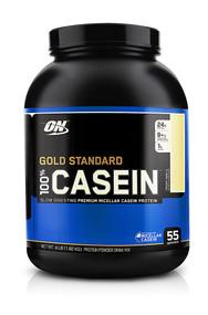 Optimum Nutrition Gold Standard 100% Casein Creamy Vanilla -- 4 lbs