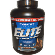 Dymatize Elite 100% Whey Protein Chocolate Fudge -- 5 lbs