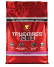 BSN True Mass 1200 Strawberry Milkshake - 10.25 lbs