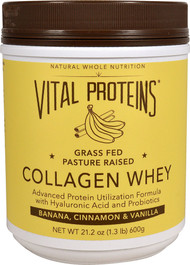 Vital Proteins, Collagen Whey, Banana, Cinnamon & Vanilla, 21.2 oz (600 g)
