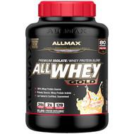 ALLMAX Nutrition, AllWhey Gold, 100% Whey Protein + Premium Whey Protein Isolate, Birthday Cake, 5 lbs (2.27