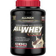 ALLMAX Nutrition, AllWhey Gold, 100% Whey Protein + Premium Whey Protein Isolate, Cookies & Cream, 5 lbs (2.27