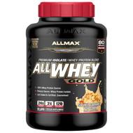 ALLMAX Nutrition, AllWhey Gold, 100% Whey Protein + Premium Whey Protein Isolate, Salted Caramel Popcorn, 5 lbs. (2.27
