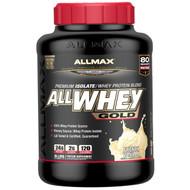 ALLMAX Nutrition, AllWhey Gold, 100% Whey Protein + Premium Whey Protein Isolate, French Vanilla, 5 lbs. (2.27