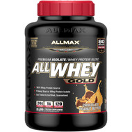 ALLMAX Nutrition, AllWhey Gold, 100% Whey Protein + Premium Whey Protein Isolate, Chocolate Peanut Butter, 5 lbs. (2.27
