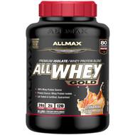 ALLMAX Nutrition, AllWhey Gold, 100% Whey Protein + Premium Whey Protein Isolate, Cinnamon French Toast, 5 lbs. (2.27