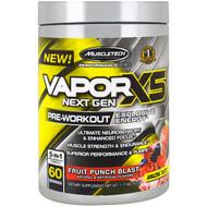 Muscletech, Peformance Series, VaporX5 Net Gen, Fruit Punch Blast, 1.17 lbs (531 g)