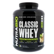 NutraBio Labs, Classic Whey Protein, Creamy Vanilla, 5 lbs (2268 g)