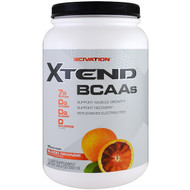Scivation, Xtend, BCAAs, Blood Orange, 44.4 oz (1260 g)