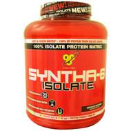 BSN, Syntha-6 Isolate, Protein Powder Drink Mix, Chocolate Milkshake, 4.02 lb (1.82 kg)