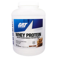 GAT, Whey Protein, Isolate Blend Muscle Protein Shake, Essentials, Coffee, 5 lbs (2268 g)