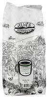 Jims Organic Coffee Guatemala Santiago Atitlan Whole Bean Coffee Medium Heavy - 5 lbs