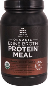 Ancient Nutrition Organic Bone Broth Protein MEAL Dark Chocolate - 15 Servings