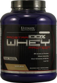 Ultimate Nutrition Prostar 100% Whey Protein Natural - 5 lbs