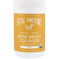 Vital Proteins, Organic, Bone Broth Collagen, Beef, 10 oz (285 g)