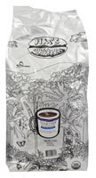 Jims Organic Coffee Whole Bean Coffee Medium Heavy Together Decaffeinated - 5 lbs