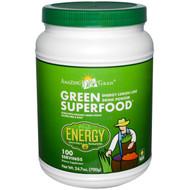Amazing Grass, Green Superfood, Energy, Lemon Lime, 1.5 lbs (700 g)