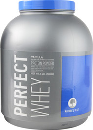 Natures Best Perfect Whey Protein Vanilla -- 5 lbs