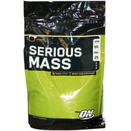 Optimum Nutrition, Serious Mass, Strawberry, 12 lbs (5,455 g)