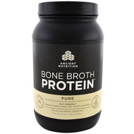 Dr. Axe / Ancient Nutrition, Bone Broth Protein, Pure, 31.4 oz (890 g)