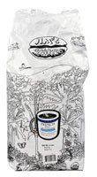 Jims Organic Coffee French Roast Decaffeinated Whole Bean Coffee Very Dark - 5 lbs