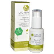MyChelle Dermaceuticals, Peptide + Anti-Wrinkle Serum, All - Combination, Serum Step 3, 1 fl oz (30 ml)