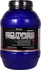 Ultimate Nutrition Platinum Series Iso Mass Xtreme Gainer Chocolate Milk - 10 lbs