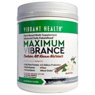 Vibrant Health, Maximum Vibrance, Version 3.0, Vanilla Bean, 22.1 oz (626.4 g)