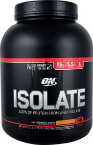 Optimum Nutrition Isolate 100% Whey Protein Isolate Snickerdoodle - 5.02 lbs