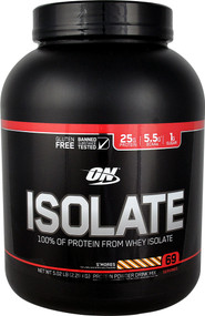 Optimum Nutrition Isolate 100% Whey Protein Isolate S'Mores - 5.02 lbs