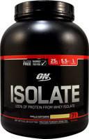 Optimum Nutrition Isolate 100% Whey Protein Isolate Vanilla Soft Serve -- 5.01 lbs