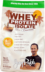 Jay Robb Whey Protein Isolate Chocolate - 80 oz