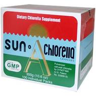 Sun Chlorella, Sun Chlorella A Granules, 100 Individual Packs, 10.6 oz (300 g)