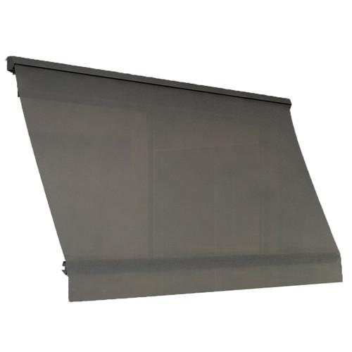 Windoware 3 x 2.1m Sunscreen Fixed Arm Awning Blind - Black