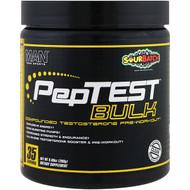 MAN Sports, PepTest Bulk, Compounded Testosterone Pre-Workout, Sour Batch,  9.88 oz (280 g)