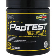 MAN Sports, PepTest Bulk, Compounded Testosterone Pre-Workout, Sour Batch,  9.88 oz (280 g)
