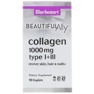 Bluebonnet Nutrition Beautiful Ally Collagen -- 1000 mg - 90 Caplets