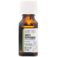 Aura Cacia Pure Essential Oil Sweet Peppermint -- 0.5 fl oz