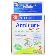 3 PACK OF Boiron, Arnicare Roll-on, Pain Relief, 2 Tubes, 1.5 oz Each