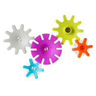 3 PACK OF Boon, Cogs, Building Bath Toy Set, 12 + Months, 5 Bath Toys